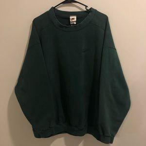 Nike Crewneck Sweatshirt green XL